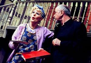 Lynn Redgrave: Lynn Redgrave and Peter Egan in Noises Off in 2001