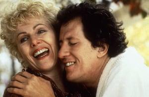 Lynn Redgrave: Lynn Redgrave and Geoffrey Rush in the film Shine, 1996