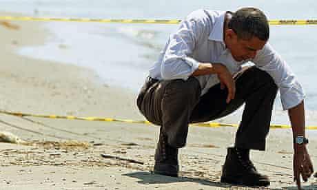 Barack Obama visiting the oil-hit Louisiana coast on Friday