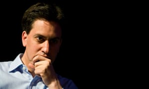 Ed Miliband at the Guardian Hay Festival.