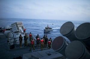 Gaza flotilla attacks: Israeli Navy Intercepts Peace Boats Headed For Gaza.
