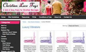 Christian Love Toys screen grab