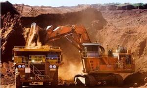 Rio Tinto mine in Pilbara, Western Australia