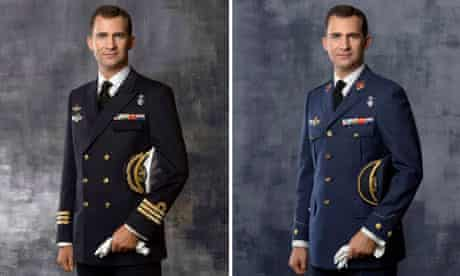 Spanish Crown Prince Felipe de Borbon