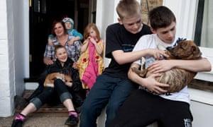 Nikki Hewson and her five children
