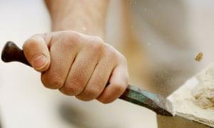 Stone cutting: Oliver Burkeman