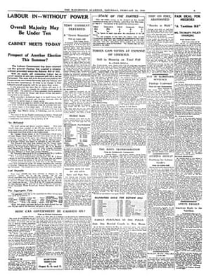 General election fronts: 3 - 1950 bill page