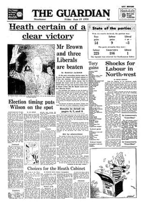 General election fronts: x10 - 1970 front page