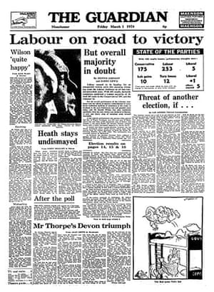 General election fronts: x11 - March 1974