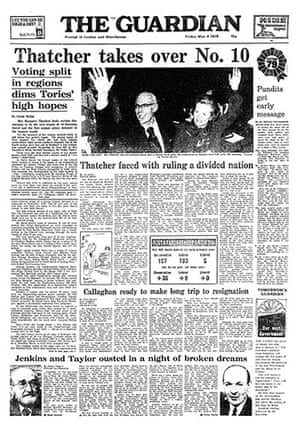 General election fronts: x12 - 1979