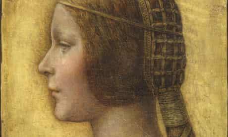 A drawing said to be La Bella Principessa by Leonardo da Vinci