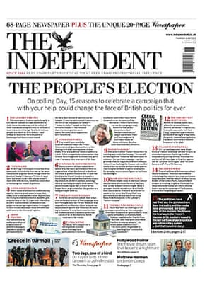 Election Day Papers: Election Day Front Pages