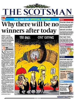 Front pages: The Scotsman