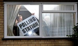 Polling: Presiding officer Andrew Dicks