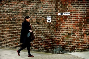 Voting Gallery: Voting in East London Tower Hamletts