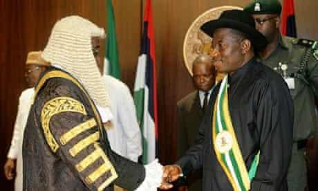 Goodluck Jonathan sworn in as Nigerian president