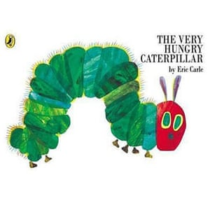 The Puffin 70: Best to Cuddle Up With: The Very Hungry Caterpillar by Eric Carle