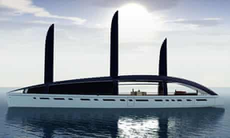 The Soliloquy solar-powered super-yacht