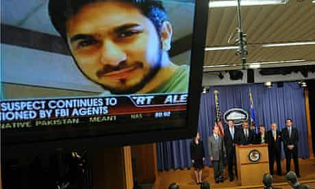 An image of terror suspect Faisal Shahza