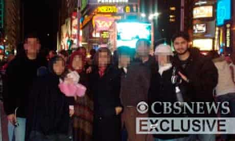 Suspected Times Square bomber Faisal Shahzad in Times Square
