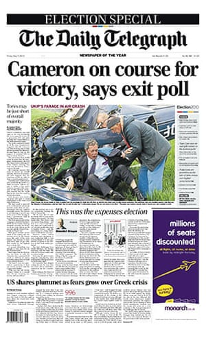 General Election Front: The front pages of the UK national newspapers
