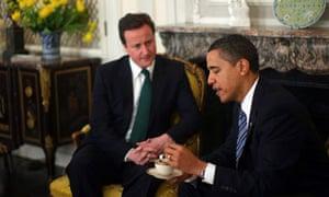 Barack Obama David Cameron