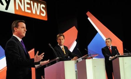 leaders debate sky news