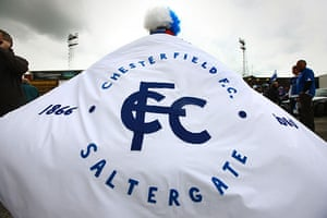 Chesterfield : Chesterfield fan Charlie Clayton approaches Saltergate for the last time