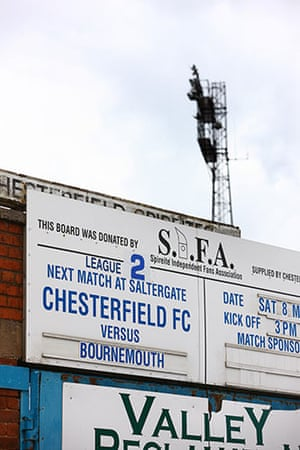 Chesterfield : The fixtures board is in use for the last time