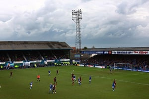 Chesterfield : The home side are on the attack