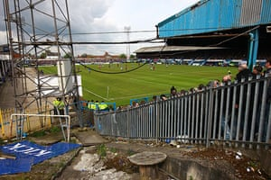 Chesterfield : A rare view at football grounds these days