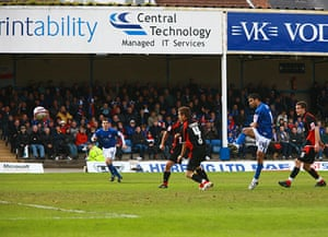 Chesterfield : Jack Lester lashes in the equaliser for Chesterfield