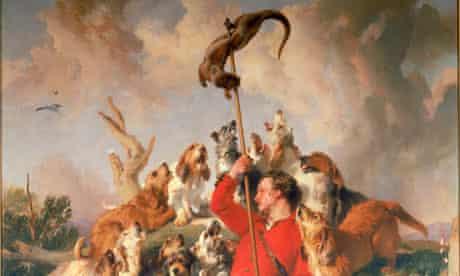 The Otter Speared by Edwin Landseer
