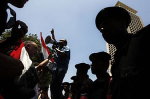 Israel protests: Egyptian activists chant anti-Israeli slogans in Cairo
