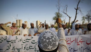Israel protests: Supporters of the Islamic group Jamaat-e-Islamic chant slogans