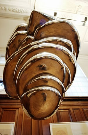 Bourgeois: A closeup view of Sublimation (2004) by Louise Bourgeois
