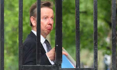 Cabinet meeting Michael Gove