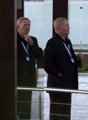 Bilderberg delegates: This man looks a thinker. But what is he thinking about?