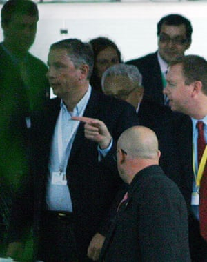Bilderberg delegates: Recognise the guy in front of our Henry?