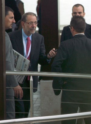 Bilderberg power people: Javier Solana, former Secretary General of NATO