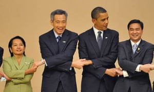 State leaders at the Apec summit