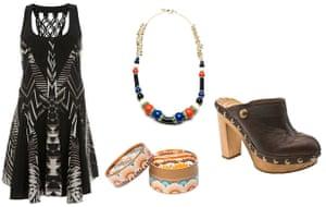 Key trends: ethnic: ikat dress