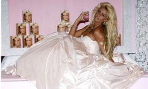Katie Price 'Stunning' perfume launch, Kensington Roof Gardens, London, Britain - 20 Aug 2007