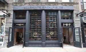 allsaints spitalfields store new-york