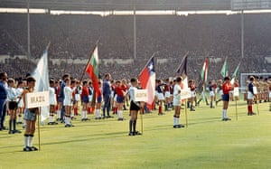 Opening Ceremonies: 1966 World Cup Opening Ceremony
