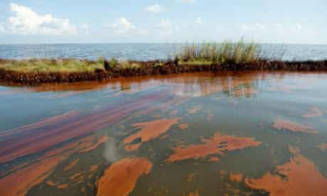 Thick oil from the BP Deepwater Horizon