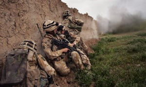 British Forces Battle Taliban In Helmand Province
