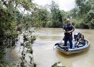 Arkansas floods: Officials search near the edge of the Little Missouri River