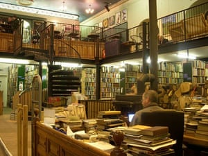 Bookshops: Leakey's Bookshop, Church Street, Inverness