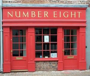 Bookshops: Number Eight Books, Wellington